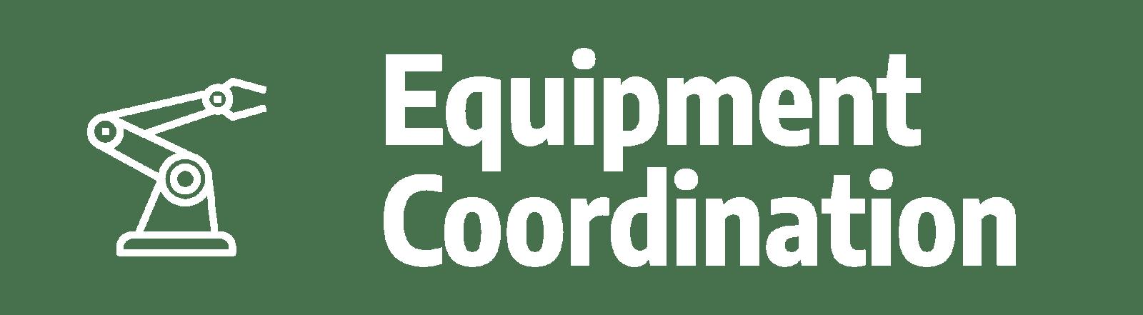 CognitOps | Equipment Coordination
